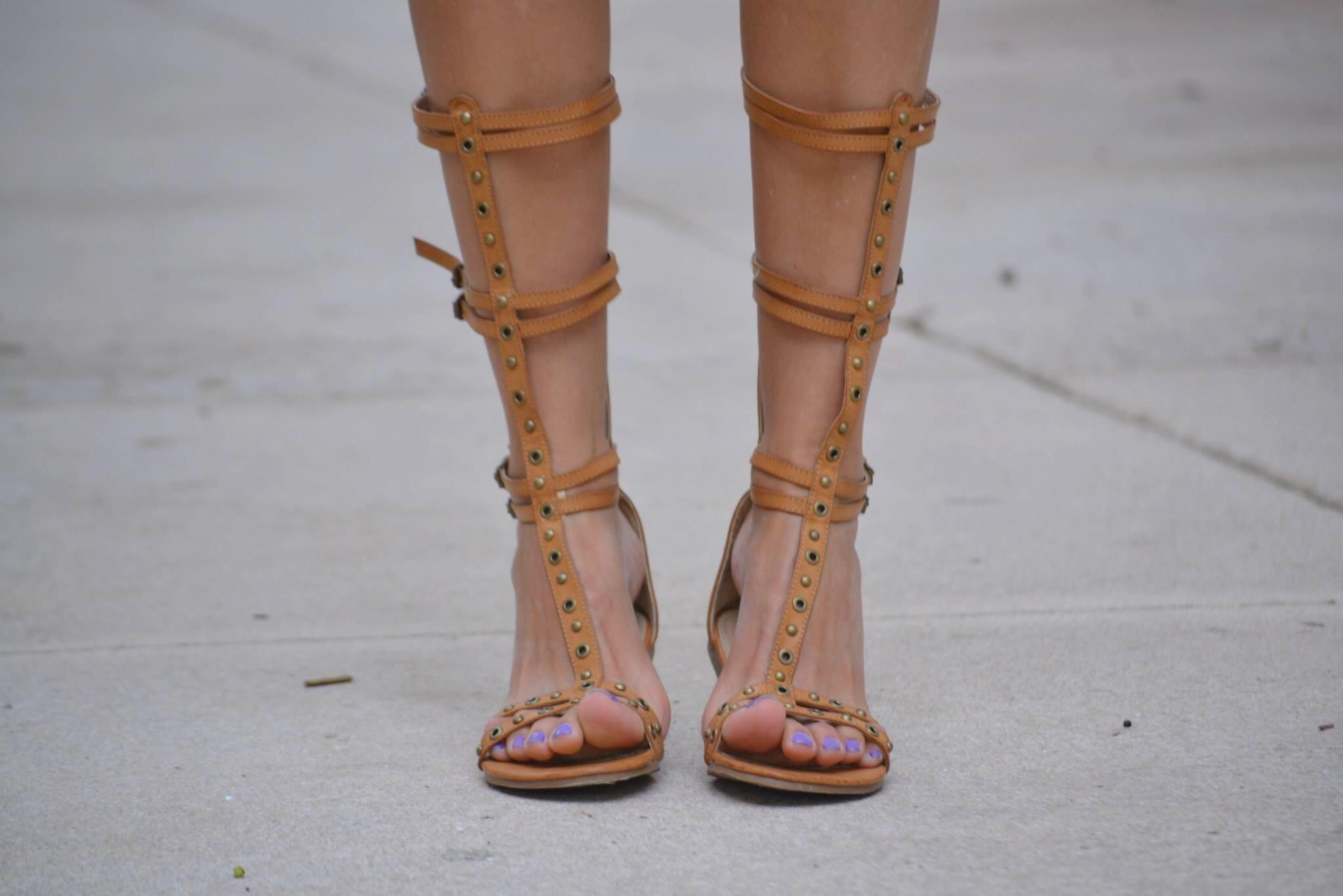 sandalias gladiadoras